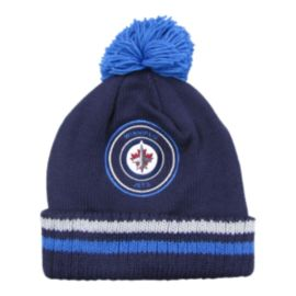 Winnipeg Jets Big Man Hi Five Pom Beanie