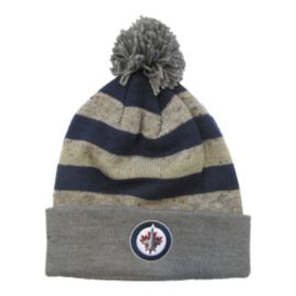 Winnipeg Jets Heathered Pom Cuffed Knit