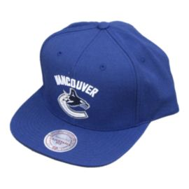 Vancouver Canucks Wool Solid Snapback Cap