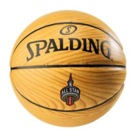 Spalding Wood Grain Ball - NBA All Star