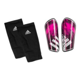 adidas Ghost Graphic Shin Guards - Shock Pink / Black