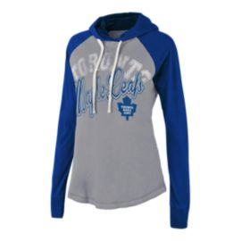 Toronto Maple Leafs Pump Fake Women's Hoodie