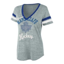 Toronto Maple Leafs Bump and Run Women's Tee