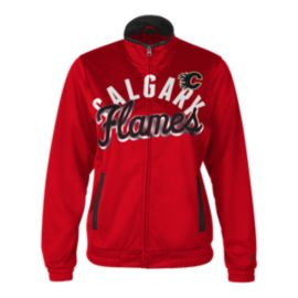 Calgary Flames Star Club Track Women's Jacket