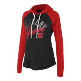 Calgary Flames Pump Fake Women's Hoodie