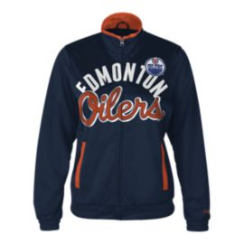 Edmonton Oilers Star Club Women's Track Jacket