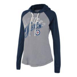Winnipeg Jets Pump Fake Women's Hoodie