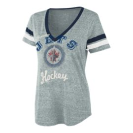 Winnipeg Jets Bump and Run Women's Tee