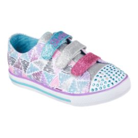Skechers Twinkle Toes Chit Chat Girls' Pre-School Casual Shoes