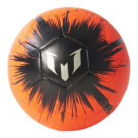 adidas Messi Mini Soccer Ball - Solar Red/Black