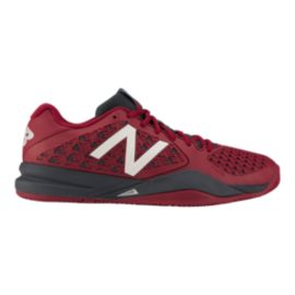 New Balance Men's 996v2 2E Wide Width Tennis Shoes - Red/Black/White