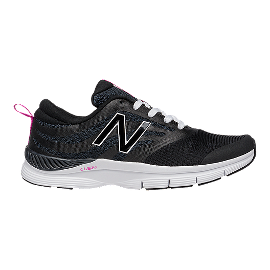 75aaba10b New Balance Women's 713 B Width Training Shoes - Black/White