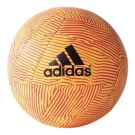 adidas X Glider Size 5 Soccer Ball - Solar Gold/Shock Pink