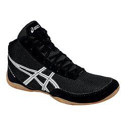 image of ASICS Men s Matflex 5 Wrestling Shoes - Black Silver Gum with sku 62133e03d0a2