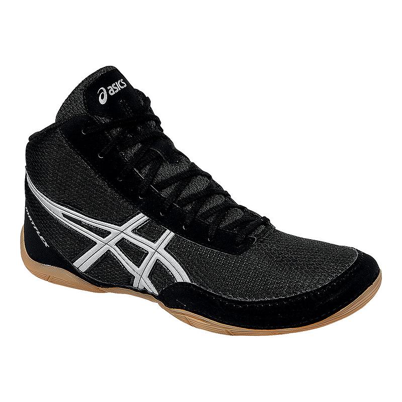 806e3a45d4d ASICS Men s Matflex 5 Wrestling Shoes - Black Silver Gum