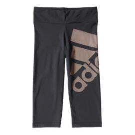 adidas Infinite Series  3/4 Logo Girls' Tights