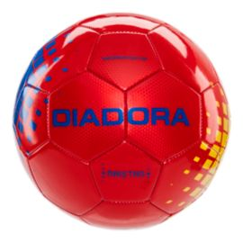 Diadora Maistro Size 3 Soccer Ball - Red/Blue