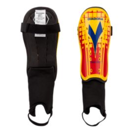 Diadora Maistro Shin Guard - Red/Blue