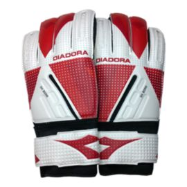Diadora Bora Goalkeeper Gloves - Red/White