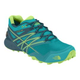The North Face Women's Ultra MT GORE-TEX® Trail Running Shoes - Teal Green/Blue Fade
