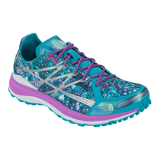 524e327a2c4 The North Face Women s Ultra TR II Trail Running Shoes - Blue Purple Silver