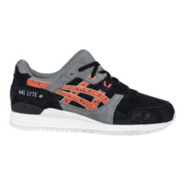 ASICS Men's GEL-Lyte 3 Shoes - Black/Orange/Grey