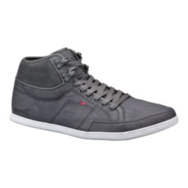 Boxfresh Men's Swapp Premium Shoes - Grey/Red