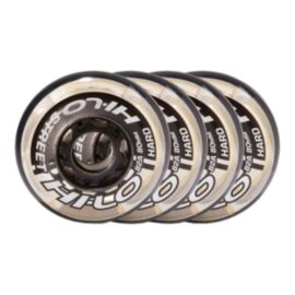 Bauer Hi-Lo Street 4 Pack 76mm 82A Inline Wheels