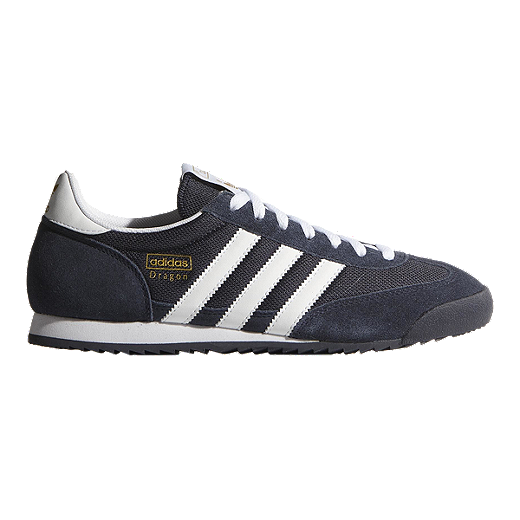 adidas Men's Dragon Shoes NavyWhite | Sport Chek