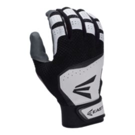 Easton VRS Hyperskin Youth Batting Glove - White/Black