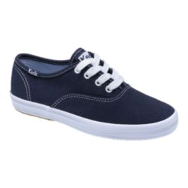 Keds Girls' Champion CVO Casual Shoes - Navy/White