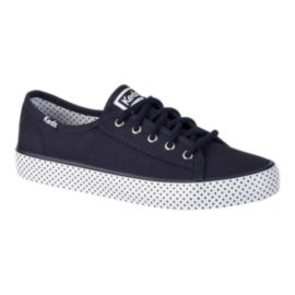 Keds Girls' Double Up Casual Shoes - Navy/Dot
