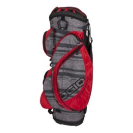 OGIO Edge Cart Bag - Strillux/Red