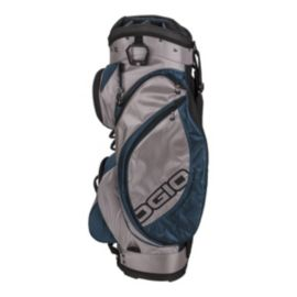 OGIO Edge Cart Bag - Pewter/Dark Blue