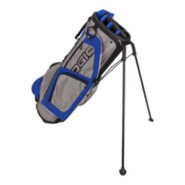 OGIO Edge Stand Bag - Pewter/Dark Blue