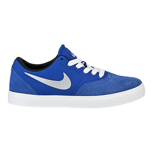 dbc54263fab60a Nike SB Check Kids  Grade-School Skate Shoes