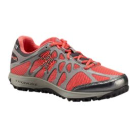 Columbia Women's Conspiracy Titanium OutDry Multi-Sport Shoes - Grey/Coral