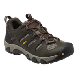 Keen Men's Koven Low Wide Waterproof Multi-Sport Shoes - Olive/Bossanova