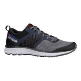 Reebok Men's One Distance Running Shoes - Coal Grey/Black