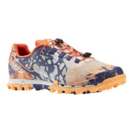Reebok Women's All Terrain Super Running Shoes - Orange/Purple/White