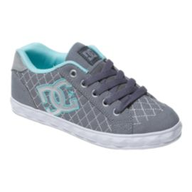 DC Chelsea Stud Girl's Grade-School Skate Shoes
