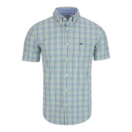 Lacoste Plaid Woven Men's Top