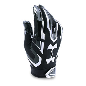 Under Armour F5 Junior Football Glove - Black/White