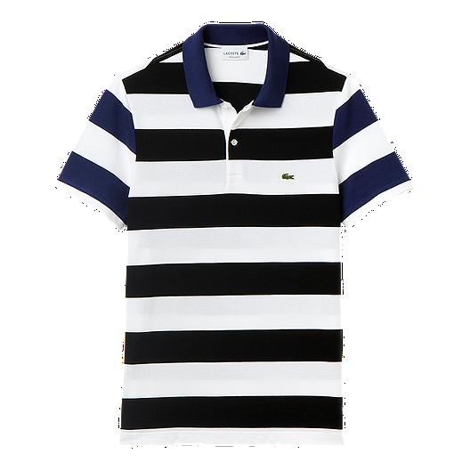 e0feba2a7 Lacoste Wide Stripe Men's Polo | Sport Chek