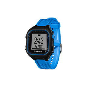 Garmin Forerunner 25 GPS Running Watch - Blue/Black