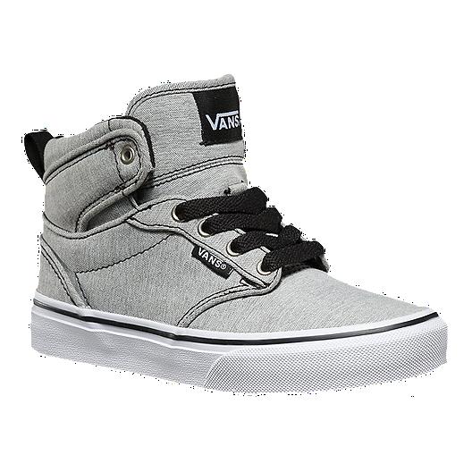 ef6eba24eb1a37 Vans Atwood Hi Kids  Skate Shoes