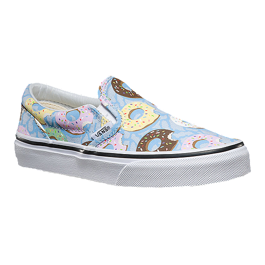 1482f416b2cc Vans Late Night Classic Slip-On Girls  Skate Shoes