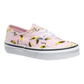 Vans Girls' Authentic Skate Shoes - Bananas