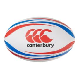 Canterbury CCC Practice Ball - White / Red / Royal Blue
