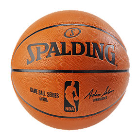 Spalding NBA Composite Replica Game Basketball - Size 7